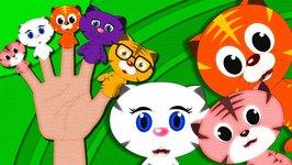 Finger Family - Cat Family  Finger Family Songs  Three Little Kittens Finger Family