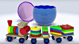 Animation. Construction Cartoon With Eggy Baby  Train  Cartoons For Kids