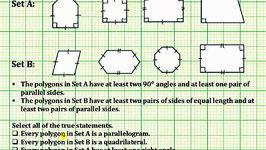 Determine True Statements About Polygons (Common Core 5/6 Math Ex 3)