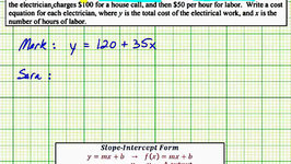 Ex: Write a System of Linear Equations From Given Information (09x-40)