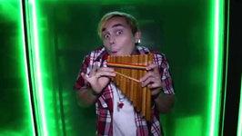 Justin Bieber loves pan flutes