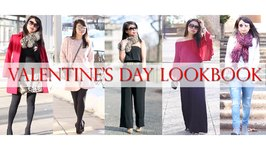 5 Valentine's Day Outfit Lookbook - From Classy to Casual - MsLaBelleMel