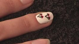 How to Design Cherry Nails