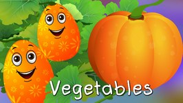 Surprise Eggs Learn Vegetables for Kids with Names  Pumpkin,Cucumber & more  ChuChuTV Egg Surprise