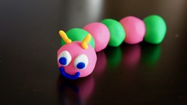 Play-Doh Caterpillar