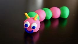 Play-Doh Caterpillar