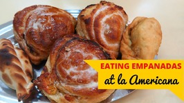 Eating Empanadas in Buenos Aires