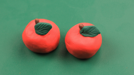 Play Dough Apple