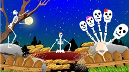 Finger Family Skeleton  Crazy Skeleton Finger Family  Funny Finger Family Rhymes