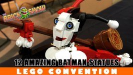 12 Amazing LEGO Batman Plus Villain Statues