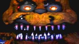 Five Nights at Freddy's 4 Nightmare Freddy Fazbear Jumpscare