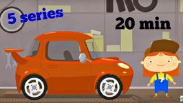 3D Cartoon  Doctor McWheelie  Car Repair Animation  Cartoon Collection