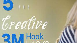 5 Reasons 3M Hooks Are Your Best Friend (Hook HACKS!)