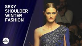 Fashion winter trends: it's all about sexy shoulders