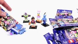 LEGO Disney Minifigures - 10 Pack Opening