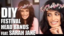 Mad Stuff With Rob - How To Make Head Bands For Festivals Feat. Sarah Jane- Music Festival Fashion