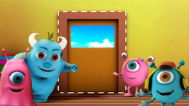 The Shape Rectangle - Monster Family Colors and Shapes