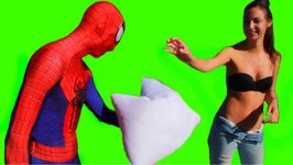 Spider-Man Pillow Fight Prank