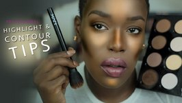 NYX Brush Review And Highlighting for Dark Skin