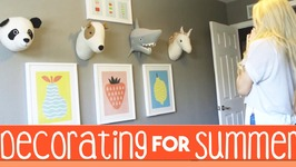 Decorating for Summer  Target Pillowfort  Decorating Inspiration
