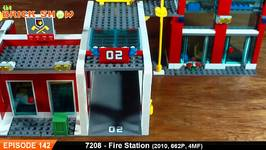 LEGO City Fire Station Review - LEGO 7208