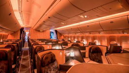 China Airlines Swanky New Plane