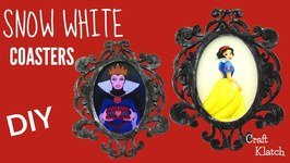 Snow White Coasters  DIY  Disney Princesses  Another Coaster Friday