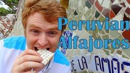 Alfajores Peruanos - Eating Peruvian Alfajores In Lima In Peru