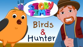 Birds and Hunter - Surprise Eggs ChuChu TV Story Time - Bedtime Moral Stories for Kids in English