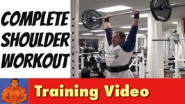 Full Shoulder Workout - Training Front, Side and Rear Deltoids