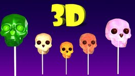 Halloween Finger Family Cake Pop Family Nursery Rhyme  Cake Pop Finger Family Songs