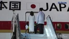 Japanese Prime Minister Abe Arrives In Davao City