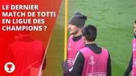 Totti et la Roma doivent crer l'exploit face  Madrid