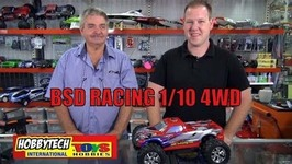 BSD Racing 1/10 4WD Nitro and Brushless Truck 2.4GHZ RTR