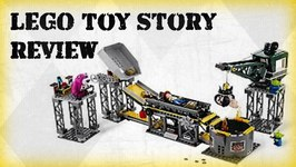 lego 7596 - lego trash compactor escape toy story 3 review video