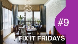 Fix It Fridays Ep.9  WOW Dining Room  Interior Design