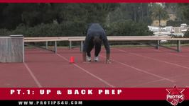 Track and Field Tips Active Warmup PT. 1 Up and Back Prep with Bryan Clay