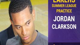 Jordan Clarkson On D'Angelo Russell - Makes The Game Easier For Everybody