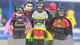 LEGO Dc Superheroes Bat Family Minifigure Collection
