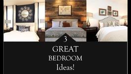 Interior Design  3 Great Bedroom Design Ideas