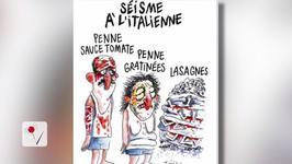 Charlie Hebdo Cartoon Mocking Italian Earthquake Victims Sparks Anger