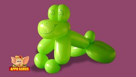 Balloon Sculpting - Learn to Sculpt a Frog