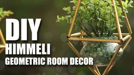 Mad Stuff With Rob - DIY Himmeli  Geometric Room Decor Idea