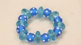 How To Make Glass Beaded Bracelets