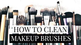 How I Clean My Makeup Brushes Naturally