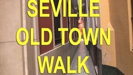 Seville Spain Walk In Santa Cruz - Old Town