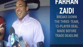 Dodgers GM Farhan Zaidi Discusses Three-Team, 13-Player Deal