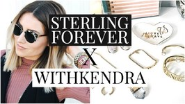 Sterling Forever  With Kendra Jewelry Collaboration