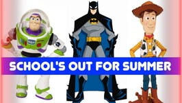 Disney Pixar TOY STORY 4 Parody - School's Out - Woody Buzz Lightyear Batman Star Wars