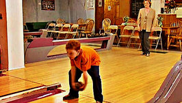 This is Daniel Cook Learning How To Bowl
